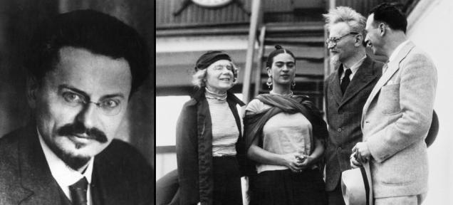 Frida-Kahlo-ve-Marksist-Yahudi-Leon-Trotsky-Mexico-1937